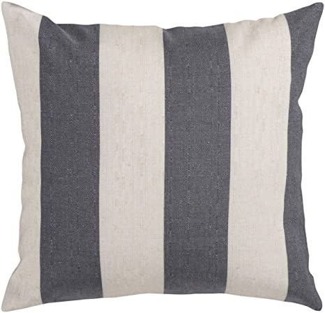 Amazon com: Simple Stripe JS-009 Polyester Filled Pillow - 18