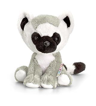 ed1c1df92ac65 Keel Toys 14 cm Pippins Lemur  Amazon.co.uk  Toys   Games