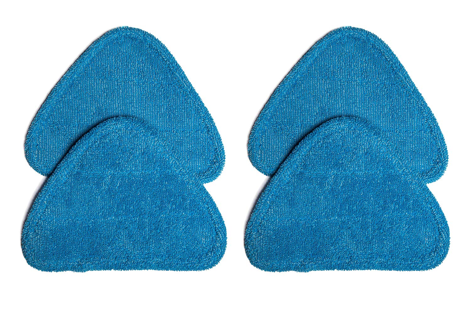 Green Label 4 Pack for Hoover Multi-Surface Microfiber Steam Mop Pads (compares to WH01000)