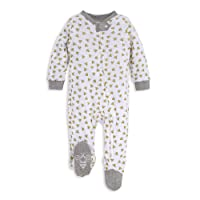 Unisex Baby Sleep & Play, Organic One-Piece Romper-Jumpsuit PJ, Zip Front Footed Pajama