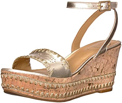 cfd6063e419 Jack Rogers Women s Lennon Wedge Sandal  Buy Online at Low Prices in ...