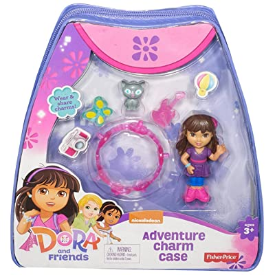 Fisher-Price Nickelodeon Dora and Friends Adventure Charm Case: Toys & Games