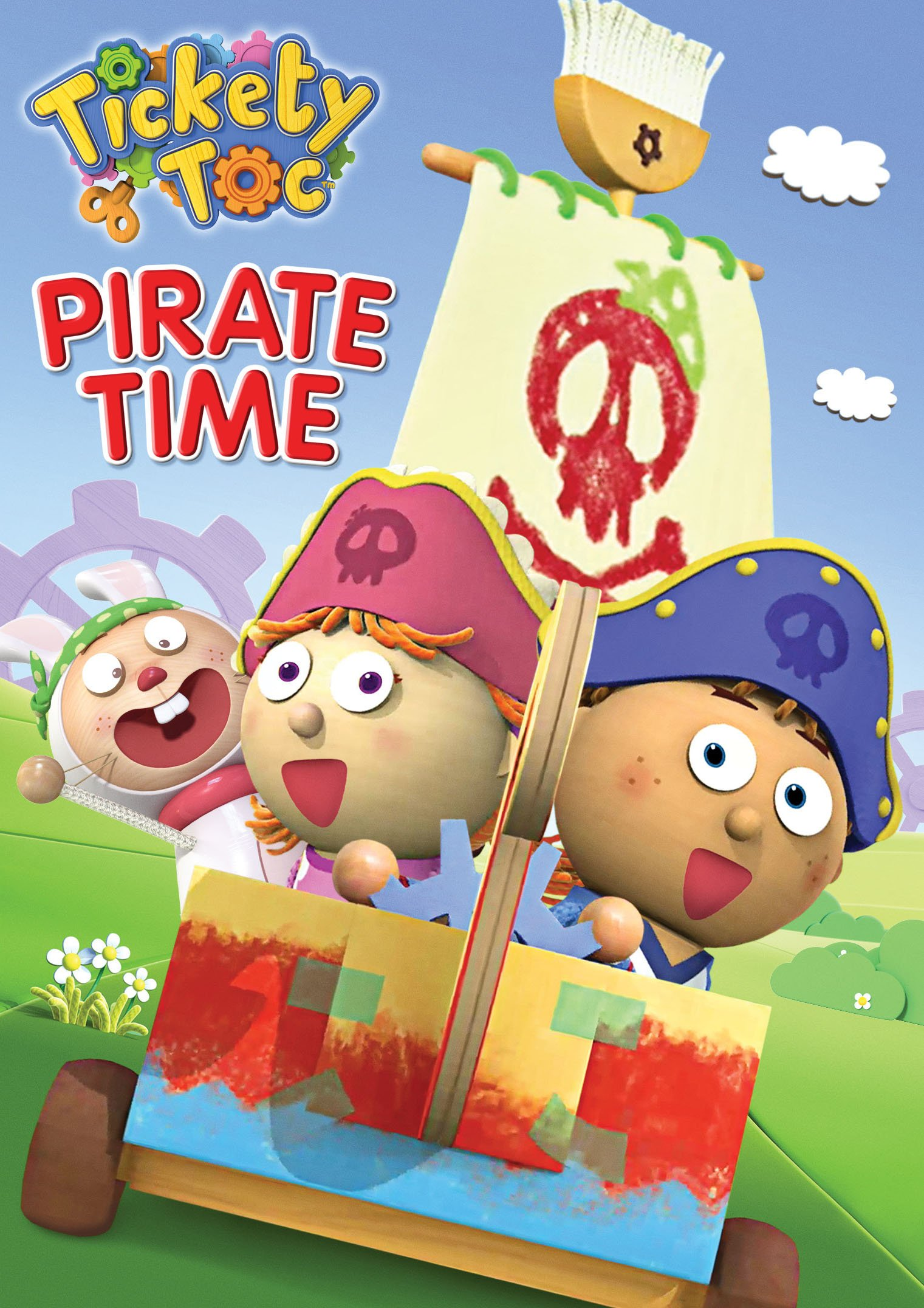 DVD : Tickety Toc: Pirate Time (DVD)