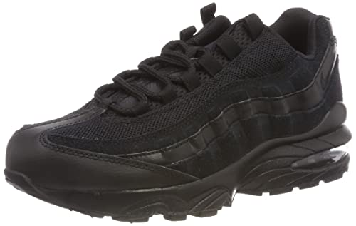 the latest 9964a 5e24a Nike Unisex Kids  Air Max 95 (gs) Low-Top Sneakers, Black