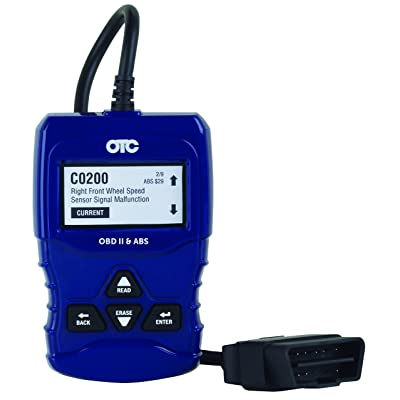 OTC Tools 3208 OBD II & ABS Scan Tool with Enhanced Engine and Transmission Codes: Automotive [5Bkhe1500851]