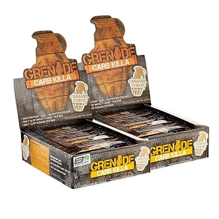 Grenade Carb Killa Caramel Chaos 12 Bars 2 Pack