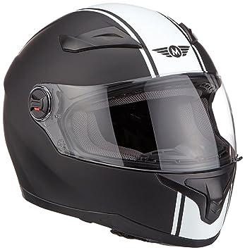 MOTO X86 Racing Matt Black · Urban Sport Fullface-Helmet Urbano Moto motocicleta Scooter Casco