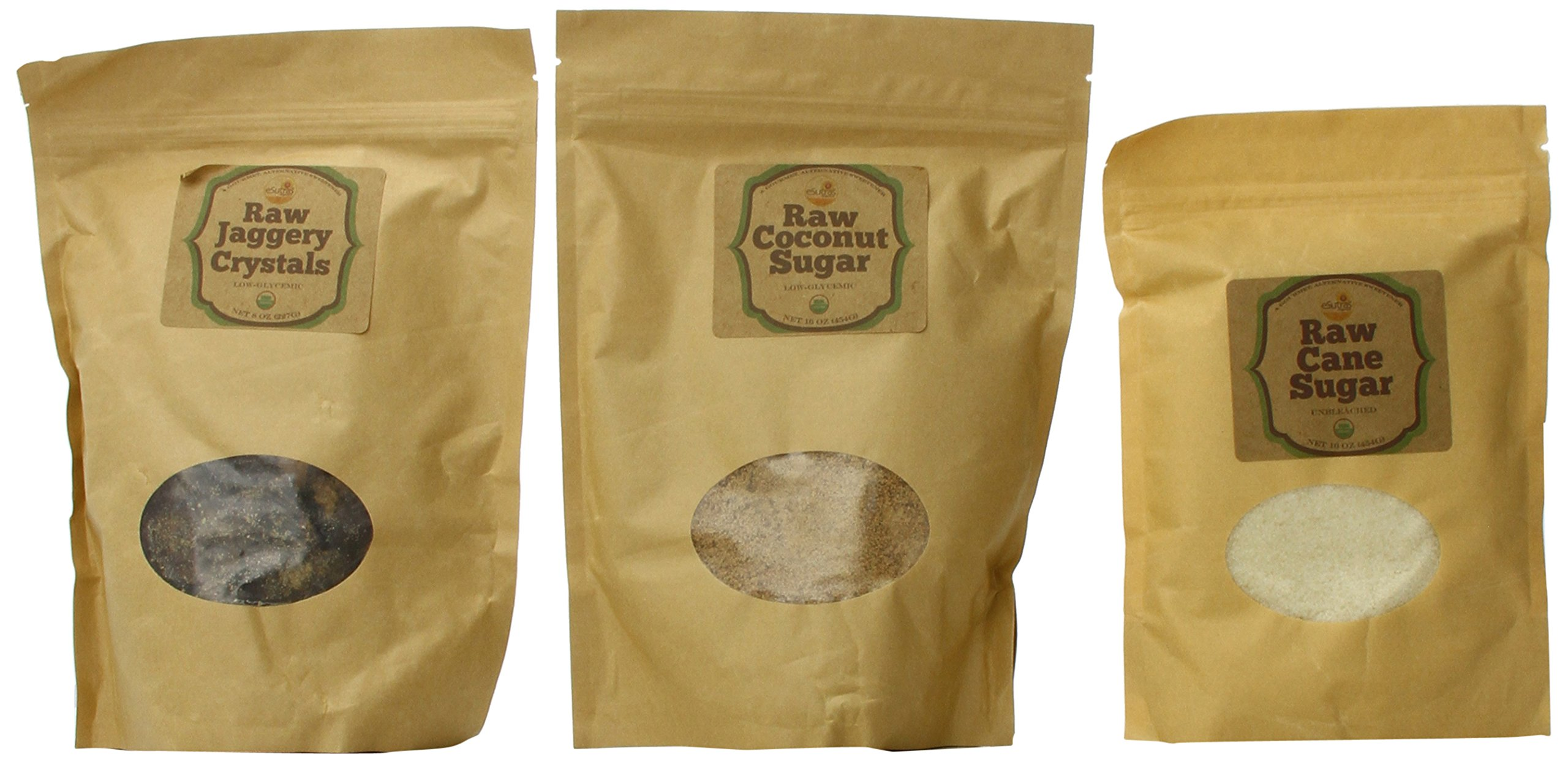 esutras Organics Organic Healthy Sweeteners Pack, 40 Ounce by eSutras Organics