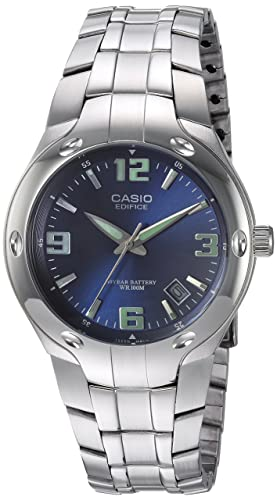 Amazon.com: Casio EF106D-2AV reloj de acero inoxidable ...