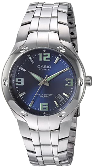 Image Unavailable. Image not available for. Color  Casio Men s Edifice  EF106D-2AV Stainless Steel Watch d669a7e1d463