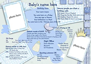 Personalised baby boy gift amazon baby personalised baby boy gift negle Image collections