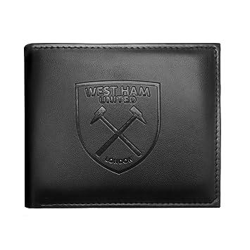 West Ham United FC - Cartera oficial con el escudo grabado: Amazon.es: Deportes y aire libre