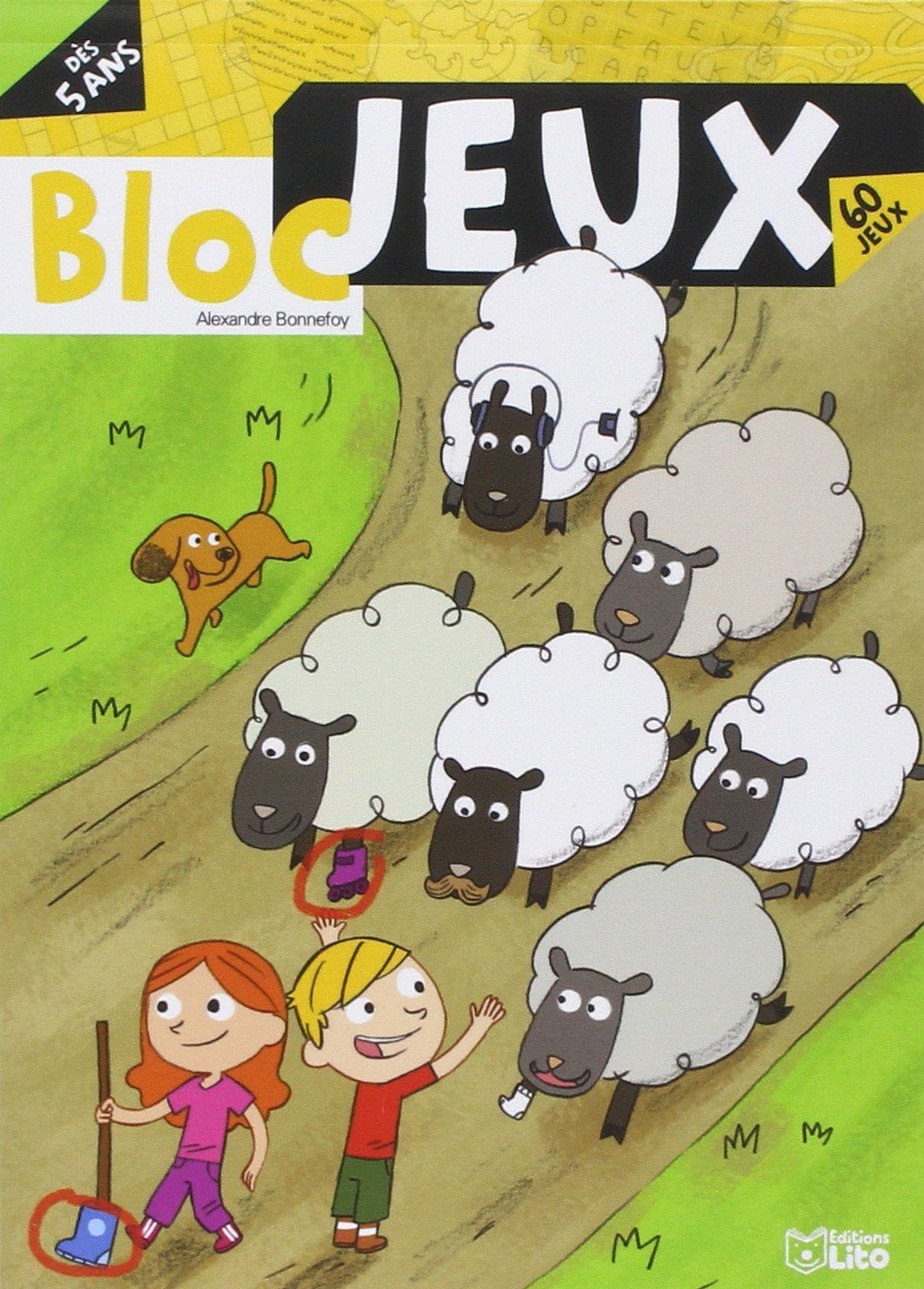 Les blocs jeux : Bloc Jeux a la Ferme - Dès 5 ans...