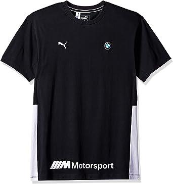 PUMA BMW Motorsport Life tee Camiseta, F Antracita, S para Hombre: Amazon.es: Ropa y accesorios