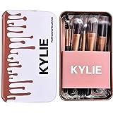 Verge Kylie Cosmetic Makeup Brush Set With Storage Box (Set Of 12)