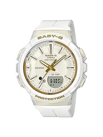 Casio Reloj Analogico-Digital para Mujer de Cuarzo con Correa en Resina BGS-100GS-7AER: Amazon.es: Relojes