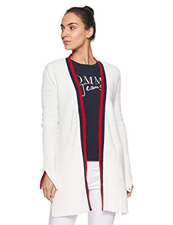 c26bc4abfe Tommy Hilfiger Women s Cardigan  Amazon.in  Clothing   Accessories