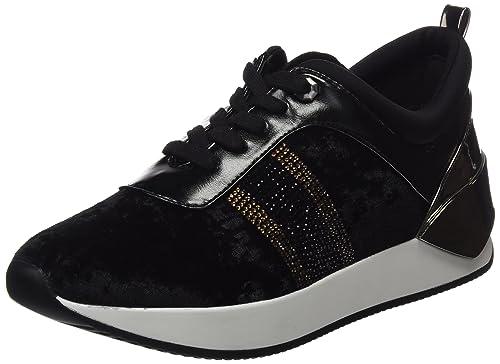 XTI 047302, Zapatillas Mujer, Negro (Black), 38 EU
