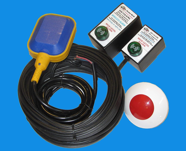 (New Listing) Hi Water Level/Sump Pump Failure Alarm (Standard & Wireless) 81ISvUcQNzL