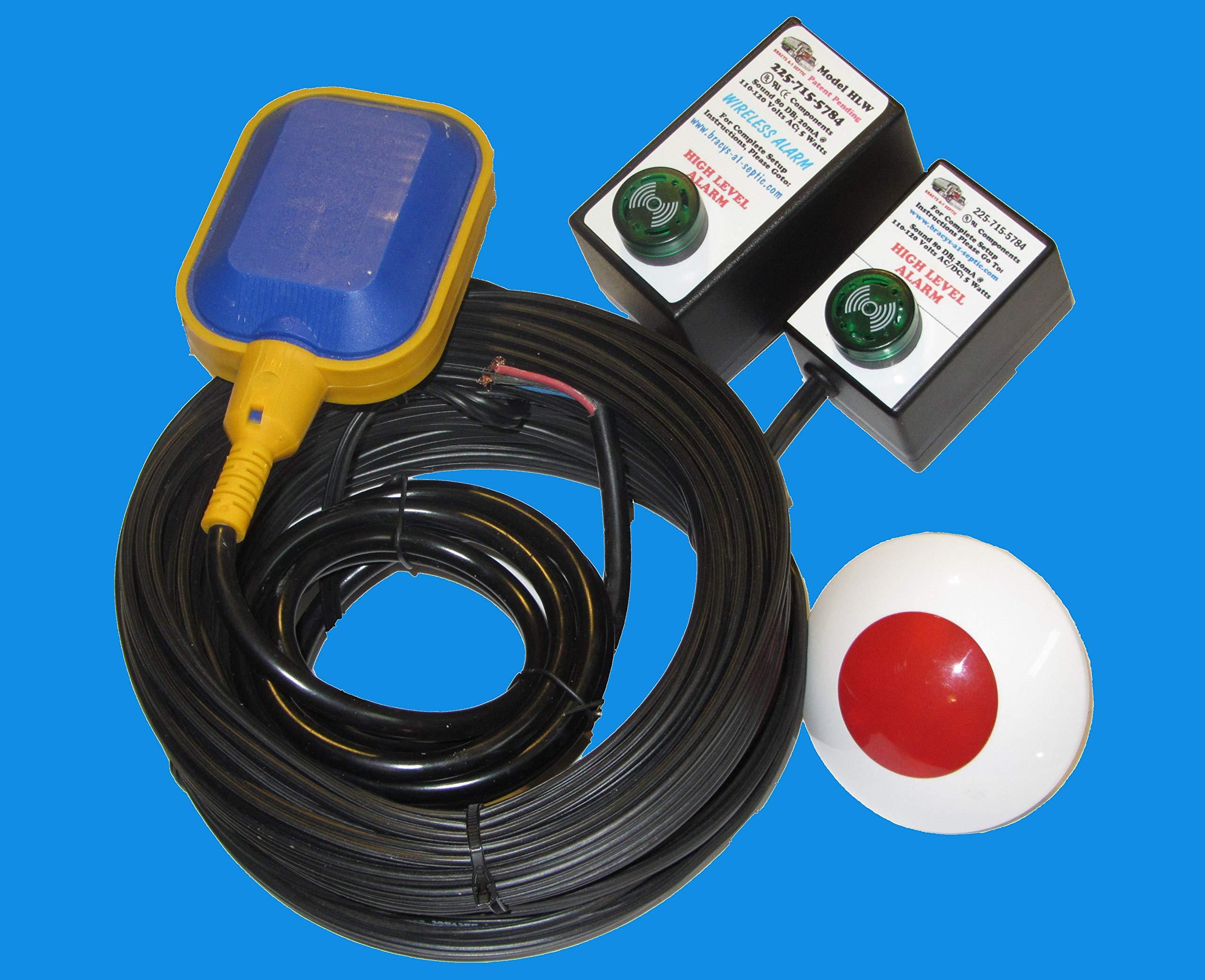 (New Listing) Hi Water Level/Sump Pump Failure Alarm (Standard & Wireless) by Bracys A-1 Septic (Image #1)