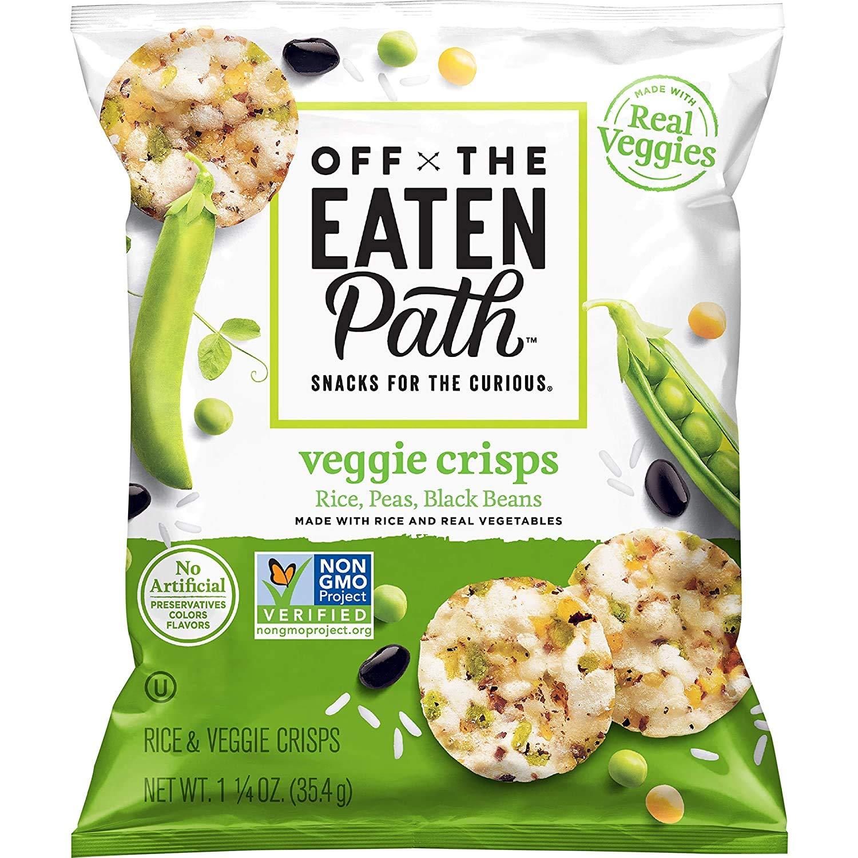 Off The Eaten Path Mosaic Veggie Crisps, 1.25oz Bags (7 Pack)