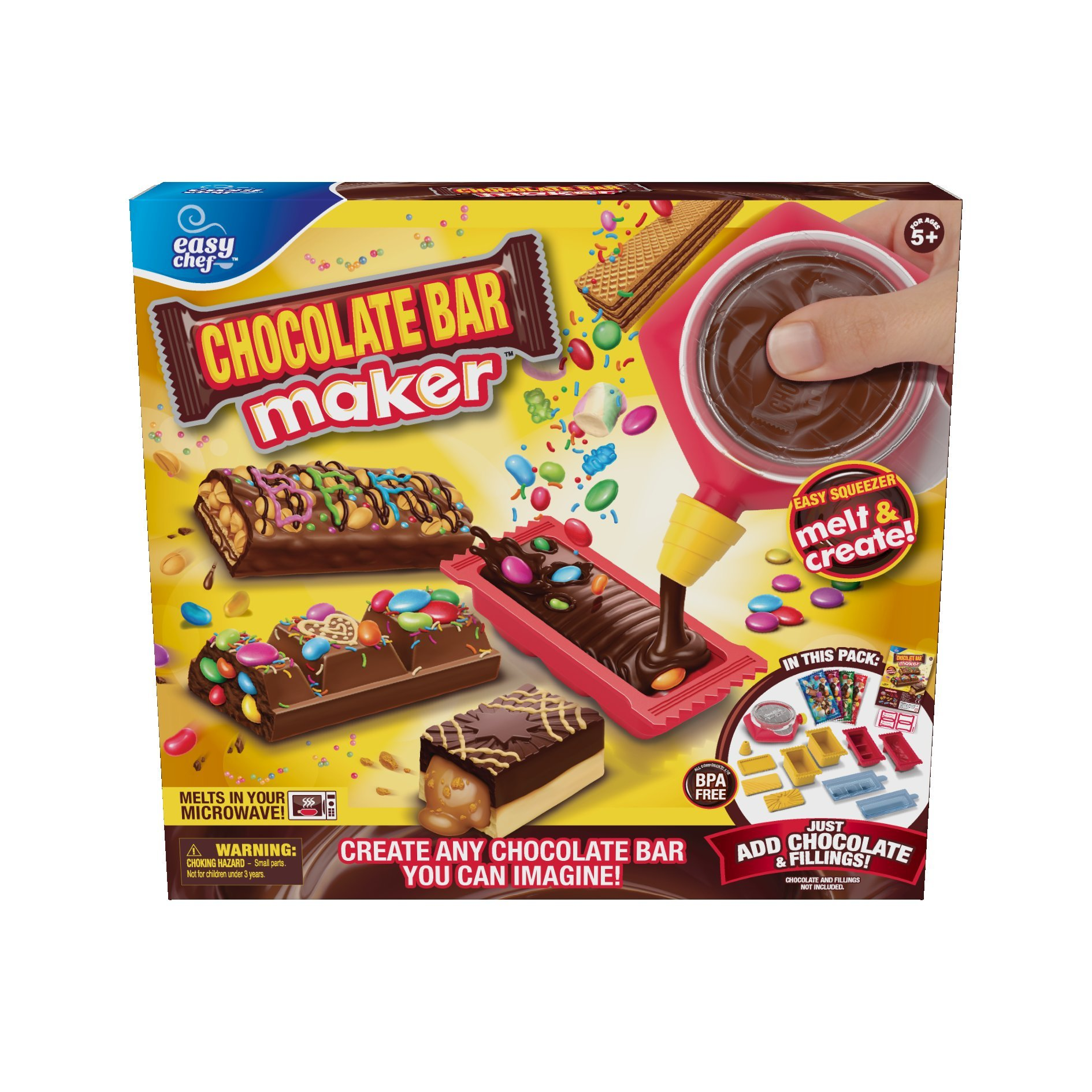 Moose Toys Chocolate Bar Maker by Easy Chef