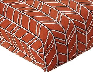 product image for Glenna Jean Apollo Crib Fitted Sheet Arrow, Orange