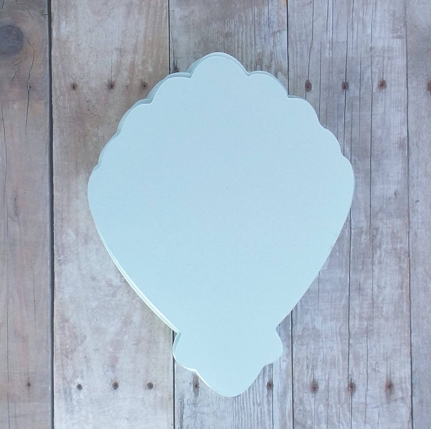Clam Shell Die Cut Place Cards in Soft Pink-Table Cards-Food and Drink Labels-Under the Sea Mermaid Party-25 Pieces