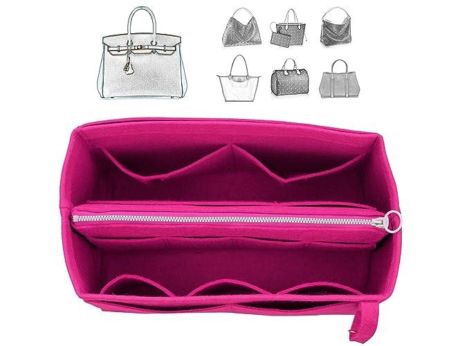 e7e1739f4f [Fits Her.mes Bags] Felt Tote Organizer (w/Detachable Zipper Bag), Bag in  Bag, Wool Purse Insert, Customized Tote Organize, Cosmetic Makeup Diaper ...