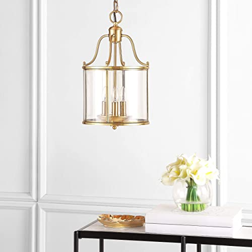 Safavieh Lighting Collection Sutton Place Brass 90.5-inch Pendant Light