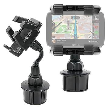 DURAGADGET Soporte Giratorio para Posavasos del Coche para GPS Tomtom GO 6200 World/Tomtom 1PL6