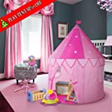 SGILE Children Pop Up Play Tent colorful toy's room (Princess)