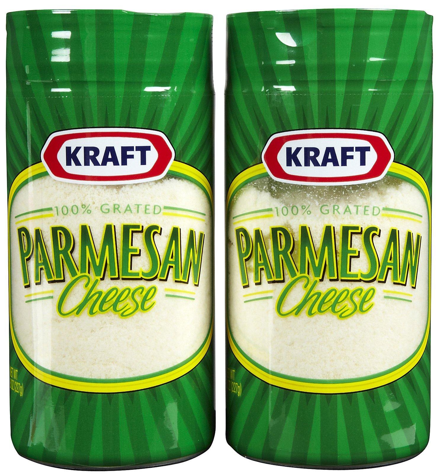 Kraft Grated Parmesan Cheese - 24 Pack by Kraft