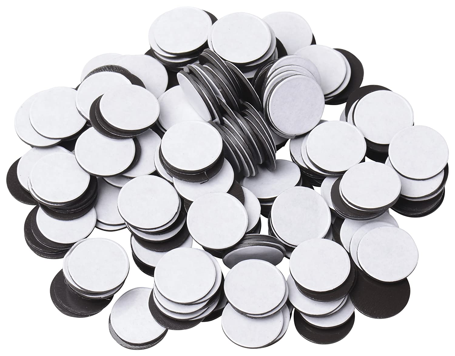BYKES Magnets 1/2' Round Disc with Adhesive Backing - 250 Pcs BYKES Technologies AH1