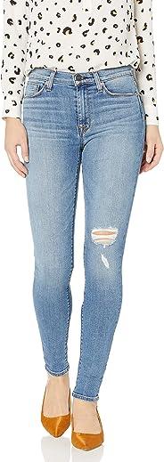 Hudson Jeans Womens Standard Barbara High Waist Super Skinny 5 Pocket Jean