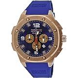 Nautec No Limit Herren-Armbanduhr XL Sailfish Analog Quarz Kautschuk SF QZ/RBRGRGBL