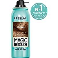 L'Oreal Paris Magic Retouch Instant Root Concealer, Brown, 75 ml