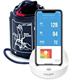 iHealth Ease Wireless Upper Arm Blood Pressure Monitor for Apple and Android with Adult/Large Cuff (11.8-16.5 Inch…