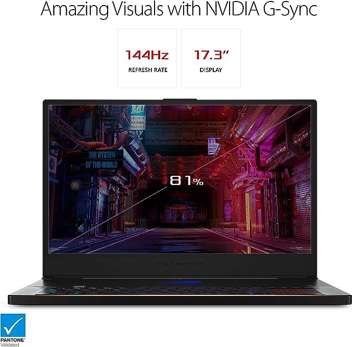 "ASUS 华硕 ROG Zephyrus S GX701 17.3""轻薄高端游戏本 笔记本电脑 (i7-8750H/GTX 2080/16GB/1TB SSD)7.6折$2494.17 海淘转运到手约¥17938"