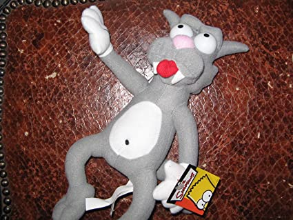 """The Simpsons 12"""" Scratchy Plush"""