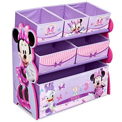 Delta Children 6-Bin Toy Storage Organizer, Disney Minnie Mouse: Toys & Games
