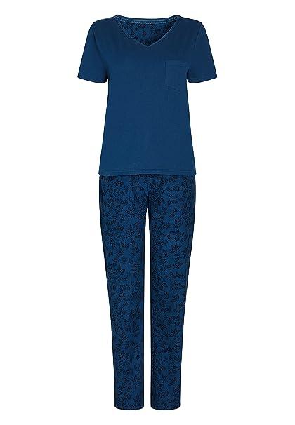 next Mujer Pijama Abrigado De Punto Azul Marino EU 50 R (UK 22 R)