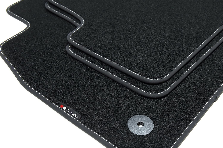 Couture:Rouge teileplus24 EF203 Exclusive-Line Tapis de Sol Haut de Gamme