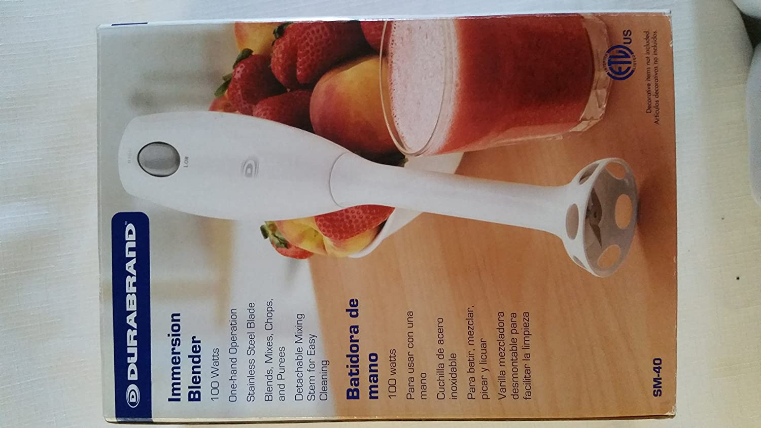 Amazon.com: Inmersion Blender: Kitchen & Dining