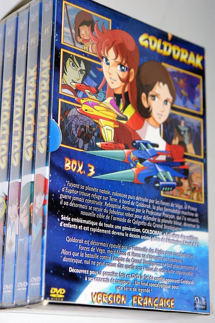 goldorak dvd