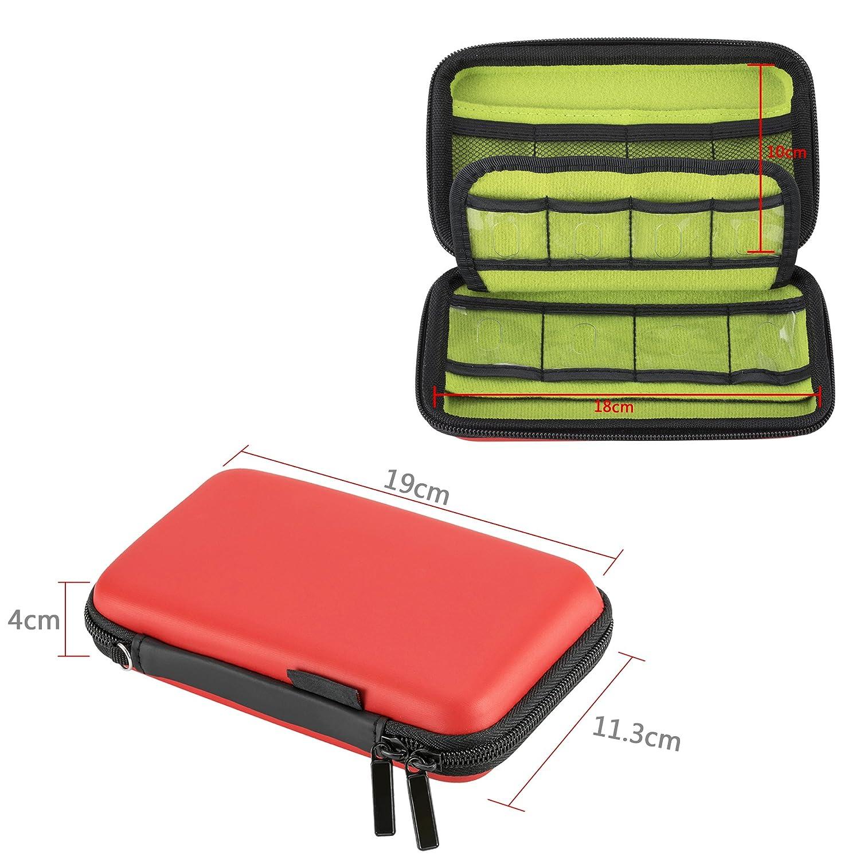 Festplattentasche 2.5 Zoll Aufbewahrungstasche Für Luwanz Usb Sticks Tasche