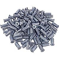 Gedotec speciale schroef Meubelschroef met volle schroefdraad   boring Ø 5 mm   Euroschroeven voor uittrekelementen…