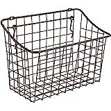 "Spectrum Diversified 10"" x 5"" x 7"" Pegboard & Wall Mount Large Wire Basket for Slatwall & Pegboard, Home & Garage Storage, Ve"
