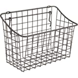 Spectrum Diversified 10' x 5' x 7' Pegboard & Wall Mount Large Wire Basket for Slatwall & Pegboard, Home & Garage…