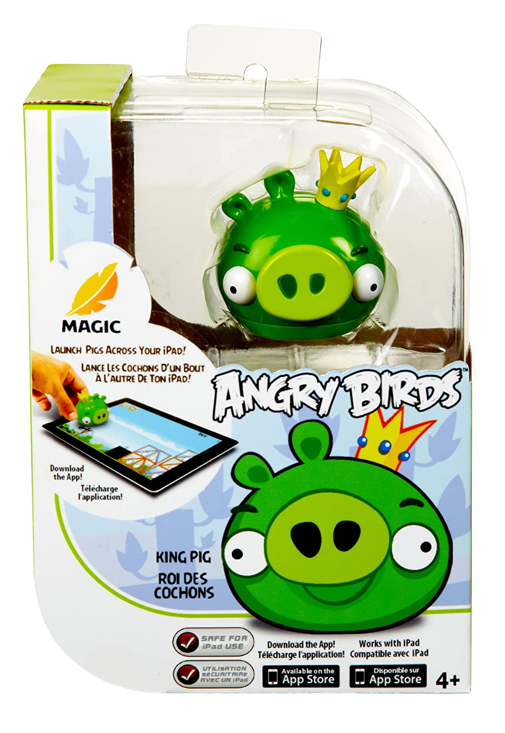 amazon com king pig with angry birds magic works with ipad toys